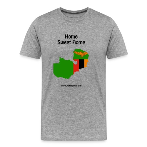 home-sweet-home-flag-coun - Men's Premium T-Shirt