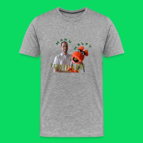 casquette manu et helfy - T-shirt Premium Homme