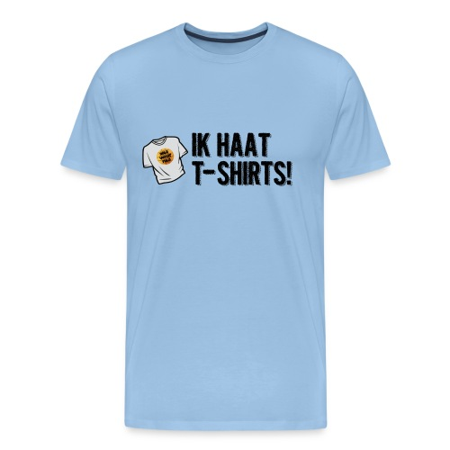 haat aan de tshirts - Mannen Premium T-shirt