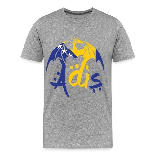 draaakbosnie png - Mannen Premium T-shirt