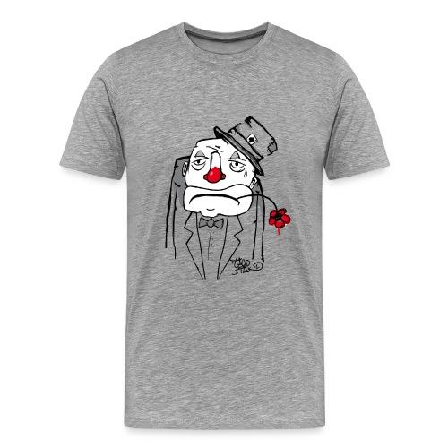 clown triste - T-shirt Premium Homme