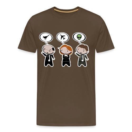 x files its a bird its a plane its a ufo - Camiseta premium hombre
