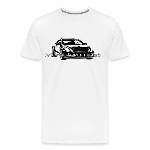 Mersforum coupe - Miesten premium t-paita