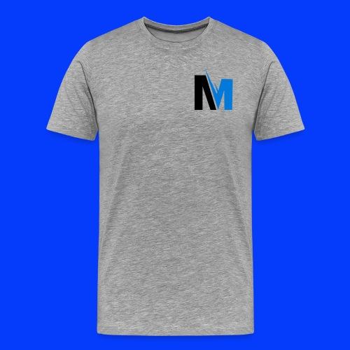 Desgin M logo - Men's Premium T-Shirt