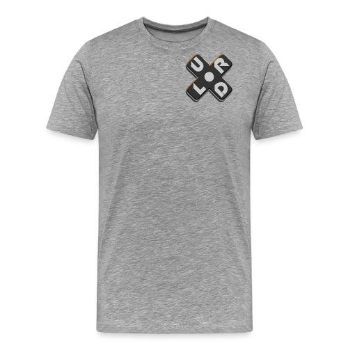 UDLR Logo - Men's Premium T-Shirt