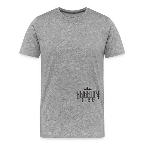 brighton bier logo black - Men's Premium T-Shirt