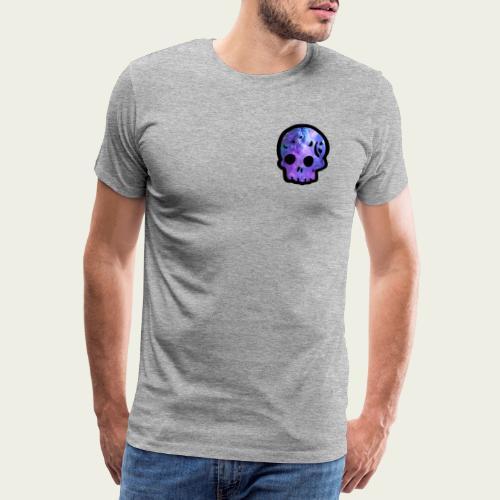 Skull craneo nebulosa - Camiseta premium hombre