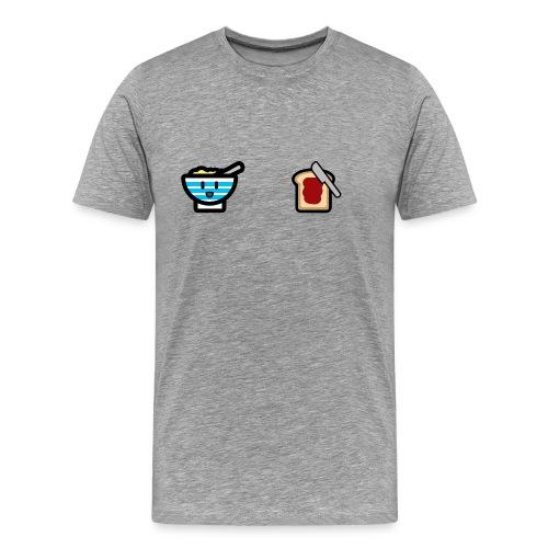 Cute Breakfast Bowl - Men's Premium T-Shirt