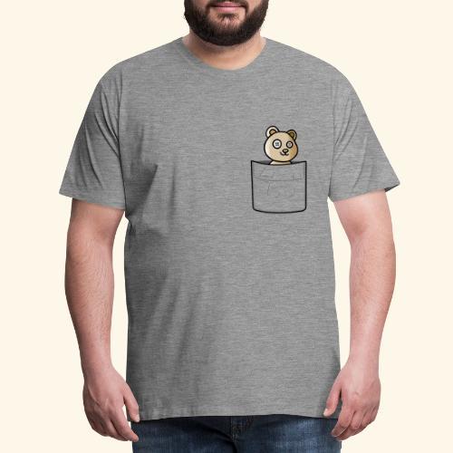 Bärli In The Pocket - Männer Premium T-Shirt