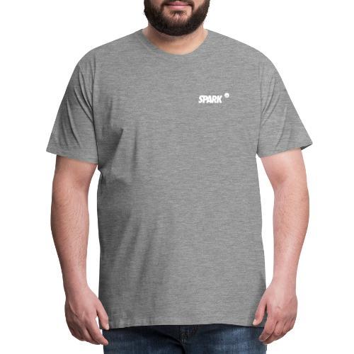 SparkWhite - Männer Premium T-Shirt