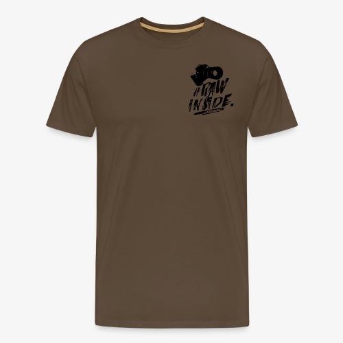 RAW INSIDE - Maglietta Premium da uomo