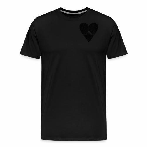 Bergliebe - used / vintage look - Männer Premium T-Shirt