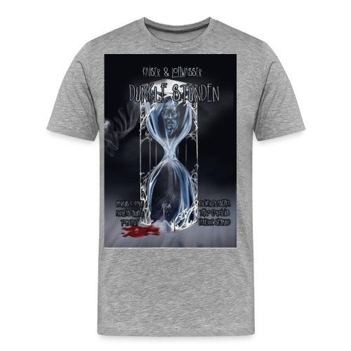 Dunkle Stunden vorn jpg - Männer Premium T-Shirt