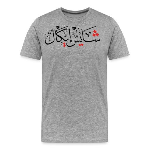sheiß egal - Männer Premium T-Shirt