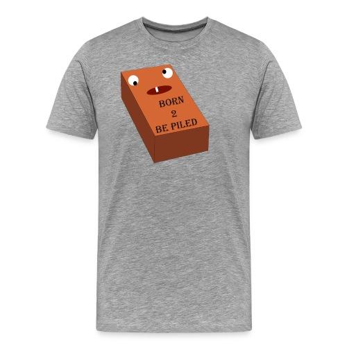 Brick Life - Mannen Premium T-shirt