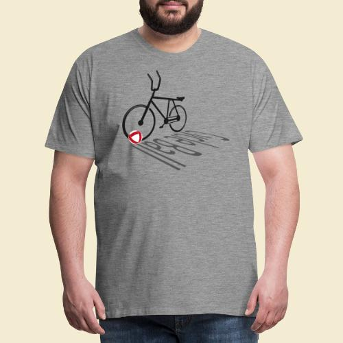 Radball | Cycleball Shadow - Männer Premium T-Shirt