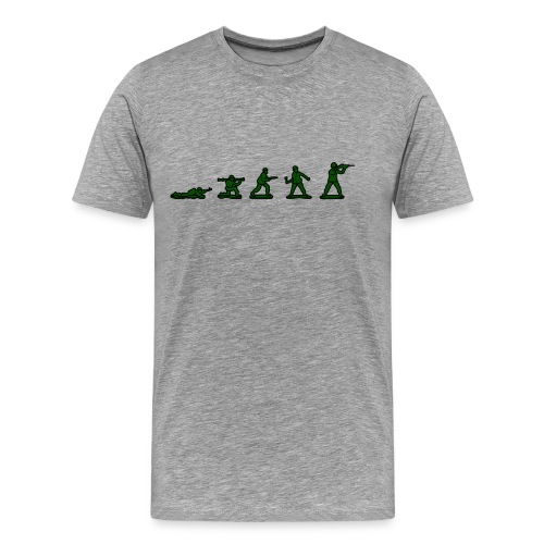 Soldier Evolution - Men's Premium T-Shirt