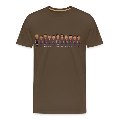 Barça 2013 2014 - Men's Premium T-Shirt