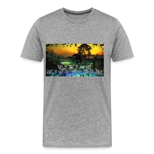 Layout für YouTube jpg - Männer Premium T-Shirt