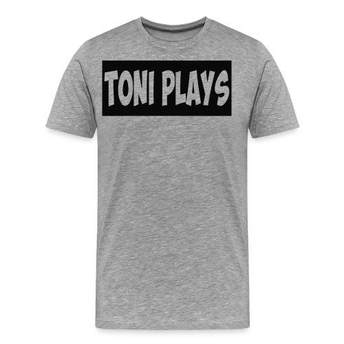 Toniplays logo - Men's Premium T-Shirt