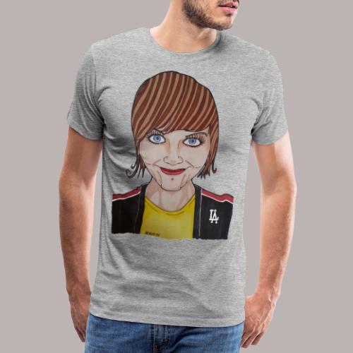 Luleå fan girl - Premium-T-shirt herr