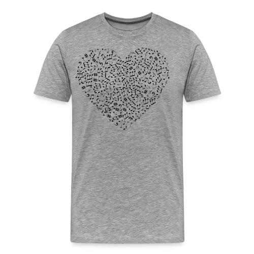 Art of musik - Männer Premium T-Shirt