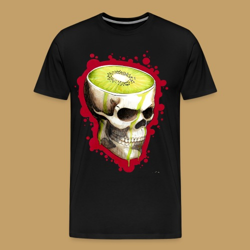 Czacha Kiwi - Koszulka męska Premium