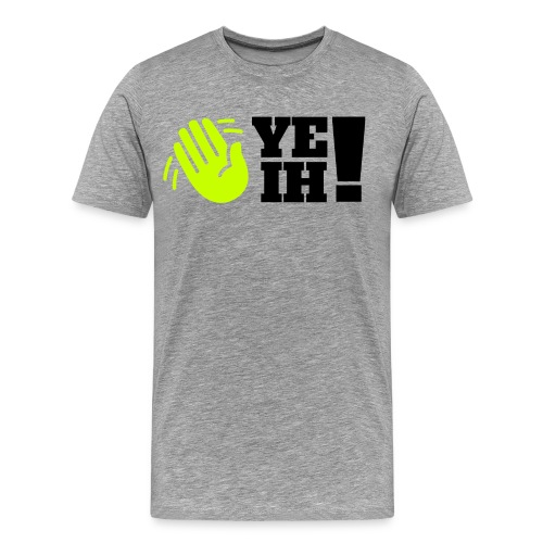 yeih logo HUGE png - Men's Premium T-Shirt