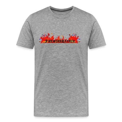 FireworkExtrem - Männer Premium T-Shirt