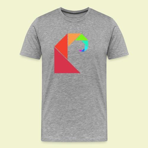 swell rainbow - Mannen Premium T-shirt