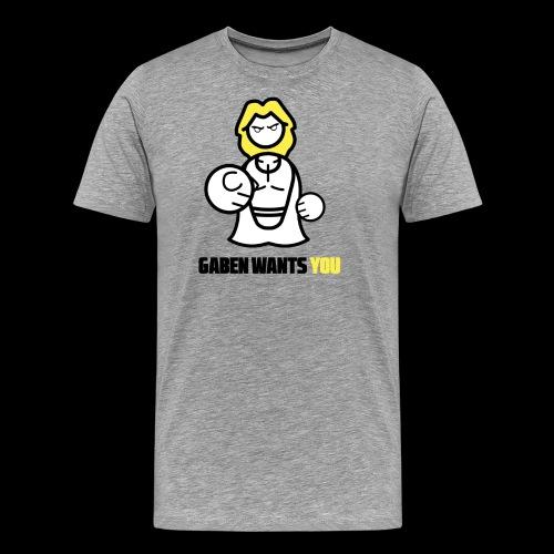 Gaben Wants You - Men's Premium T-Shirt