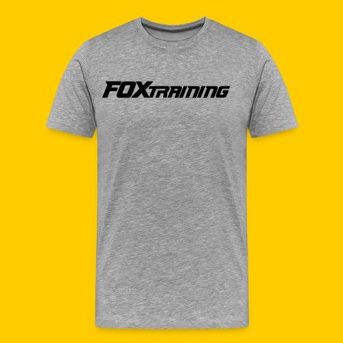 FOX BASICS - Mannen Premium T-shirt