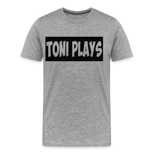 Toniplays logo - Men's Premium T-Shirt