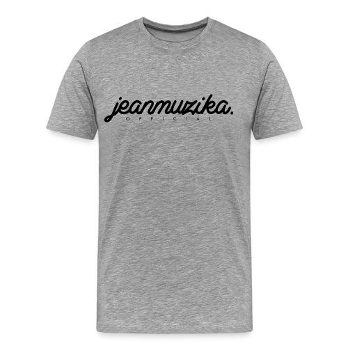 JeanMuzika Logo schwarz - Männer Premium T-Shirt