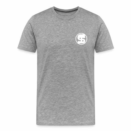 Logoplain - Mannen Premium T-shirt
