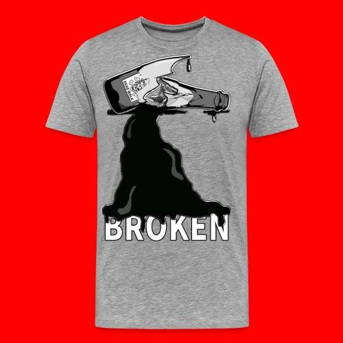 Broken - Men's Premium T-Shirt