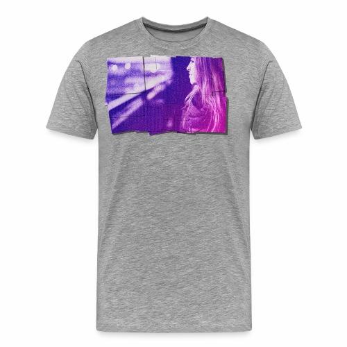 Girl Tile - Men's Premium T-Shirt