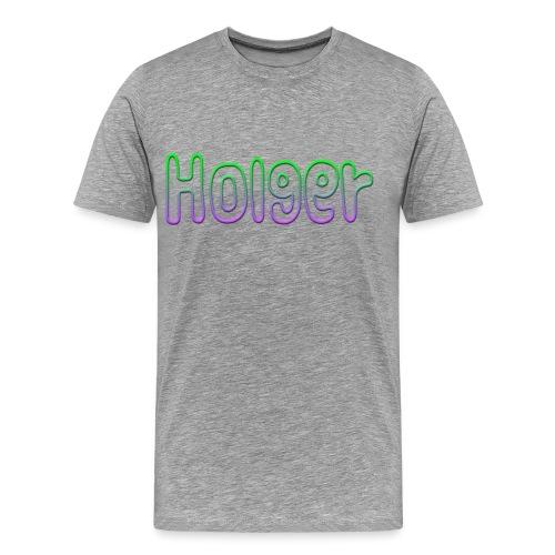 Holger - Herre premium T-shirt