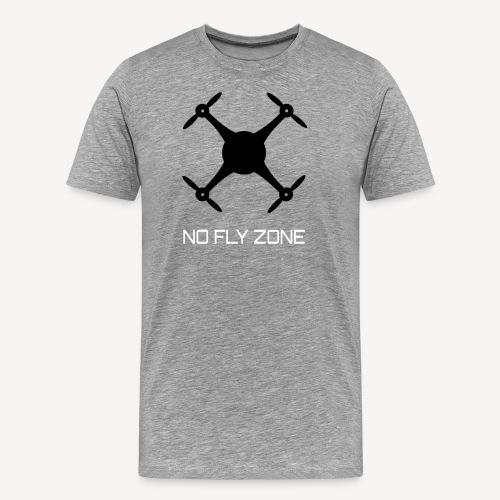NO FLY ZONE - Maglietta Premium da uomo