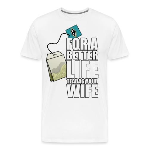 Teabagging - Maglietta Premium da uomo