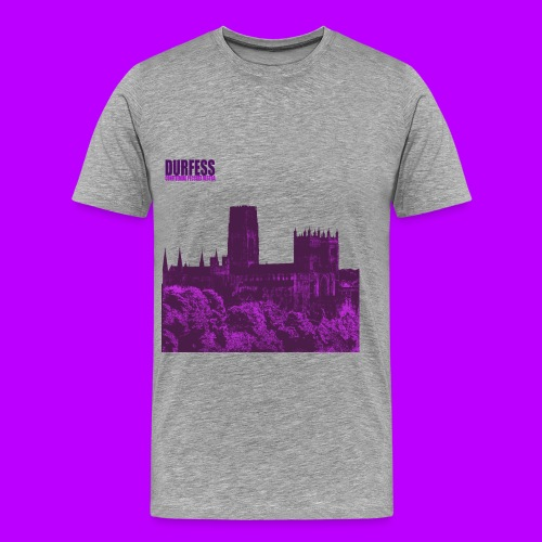 Square Durfess Logo - Cathedral Only - Men's Premium T-Shirt