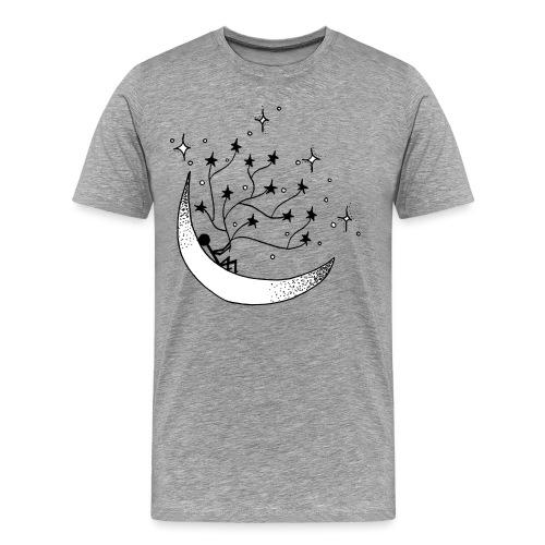 Holding on to stars - Men's Premium T-Shirt