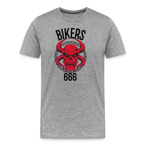 biker devil - T-shirt Premium Homme