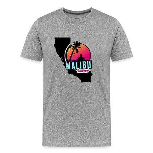 Malibu sunset - T-shirt Premium Homme