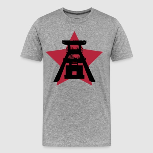 Ruhrpott Grafikdesign - Männer Premium T-Shirt
