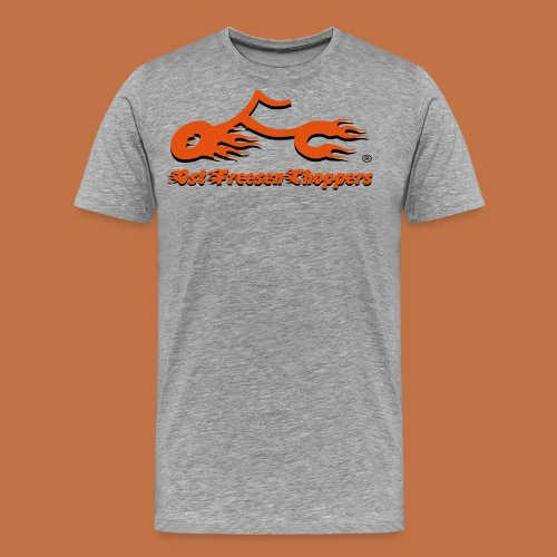 OFC Logo orangegrau 1 0 - Männer Premium T-Shirt