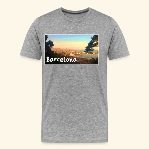 Barcelona - Men's Premium T-Shirt