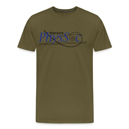 Official Warwick PhysSoc T Shirt - Men's Premium T-Shirt