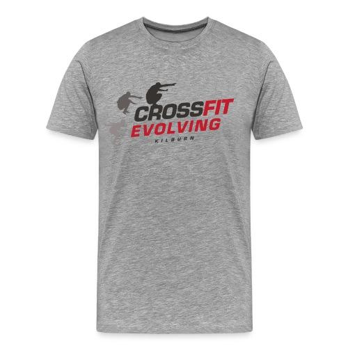 Kilburn - White BG - Blac - Men's Premium T-Shirt