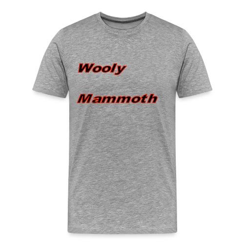 Wooly Mammoth - Men's Premium T-Shirt